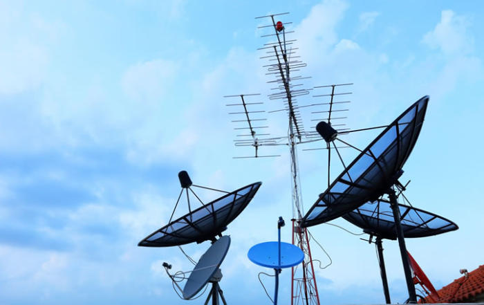 Vendita antenne TV a Roma