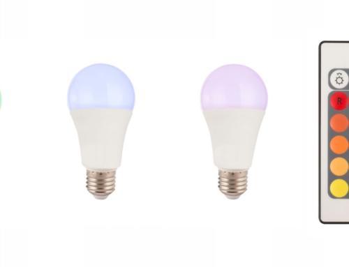 Lampadina a LED dimmerabile con telecomando